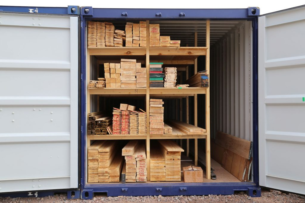 Cain Brothers Timber Merchants Timber Storage Container Derbyshire East Midlands