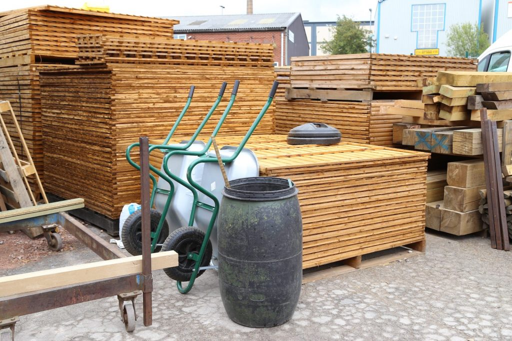 Cain Brother Trellis Fence Panels Supply Derbyshire East Midlands